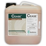 Cease Microbial Fungicide and Bactericide, OMRI Listed, 2.5 Gal.