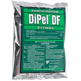 DiPel DF Biological Insecticide, OMRI Listed, Valent