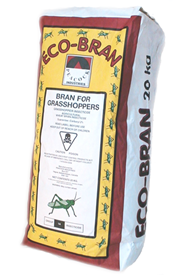 Eco Bran Grasshopper Bait, and Insecticide